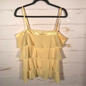 Old navy ruffled tank top